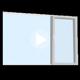 ventana tipo corredera de 3 hojas móviles